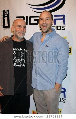 LOS ANGELES - SEPT 22:  David Lee Miller, Tony Hale arriving at the premiere of