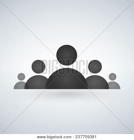 Staff Or Board Of Directors Icon. Vector Illustration Isolated On Modern Background