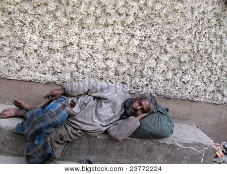 Sleeping On The Streets