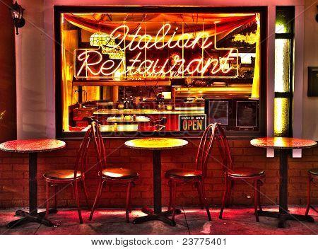Italin Resturant Hdr