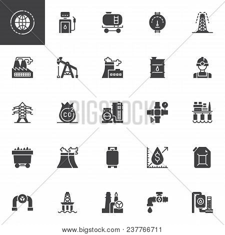 Oil Industry Vector Vector Photo Free Trial Bigstock