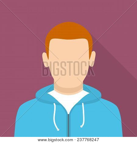 Sportsman Icon. Flat Illustration Of Sportsman Vector Icon For Web