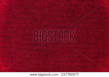 Red Velvet Texture Background. Red Velvet Fabric