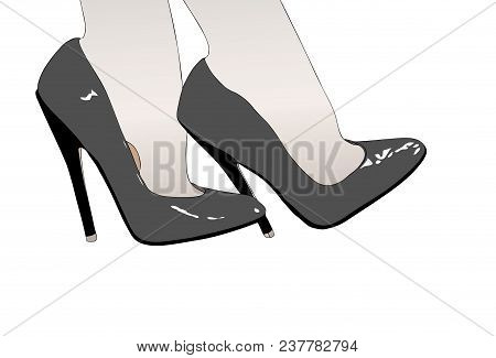 The Sexy And Seductive Shoes Of A Woman