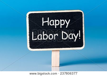 International Labor Day At May 1st. Day Text On Little Wooden Tag. Spring Time, Labour Day - 1 Of Ma