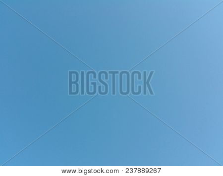 Clear Blue Sky For Background In Design