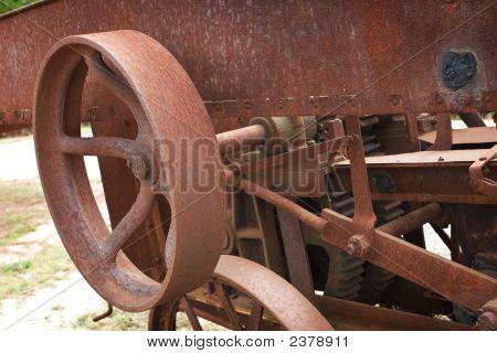 Close Up Old Machine
