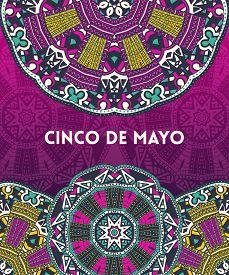 Beautiful Greeting Card, Invitation For Cinco De Mayo Festival. Design Concept For Mexican Fiesta Ho