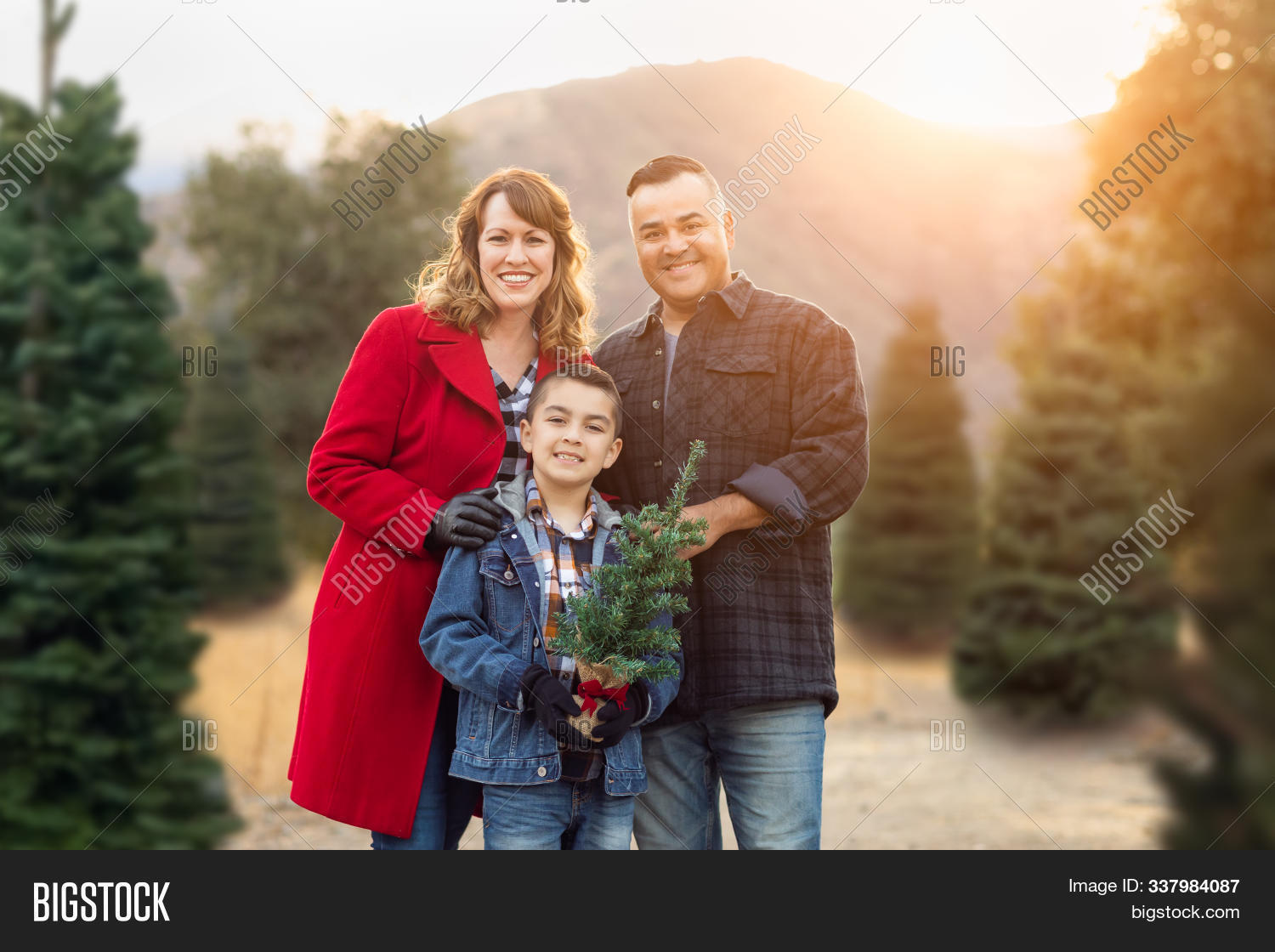 Mixed Race Family Image Photo Free Trial Bigstock