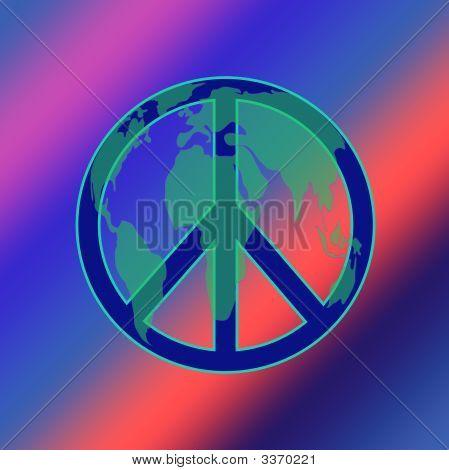 World Peace Tie Dye