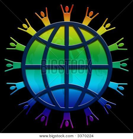 World Wide Web Rainbow