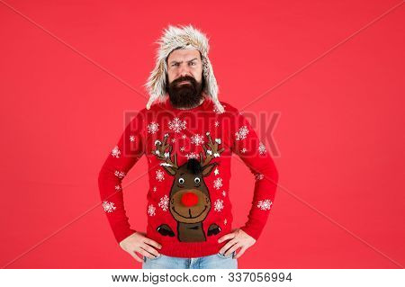 Join Holiday Party Craze And Host Ugly Christmas Sweater Party. Winter Party Outfit. Buy Festive Clo