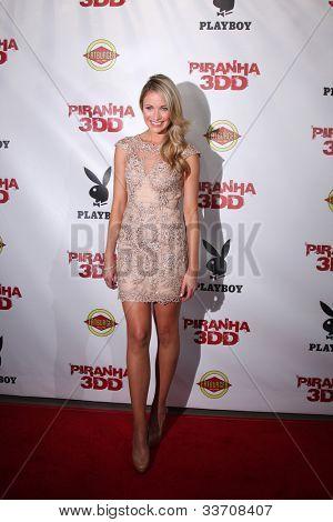 LOS ANGELES - MAY 29:  Katrina Bowden arrives at the