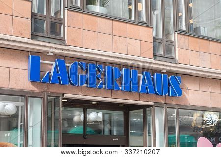 Stockholm, Sweden - September 24, 2019: Lagerhaus Logo And Sign. Lagerhaus Is A Homeware Chain That