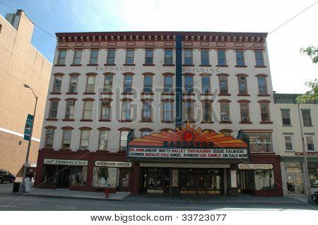 Bardavon Theater in Poughkeepsie, NY