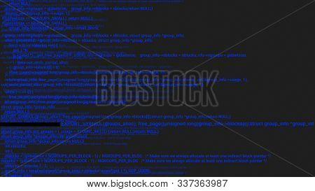 Green screen coding hacker concept animation with glitch. Programming code typing error. Big data and Internet cyber attack. Programming code abstract. Blockchain concept, computer digital code poster