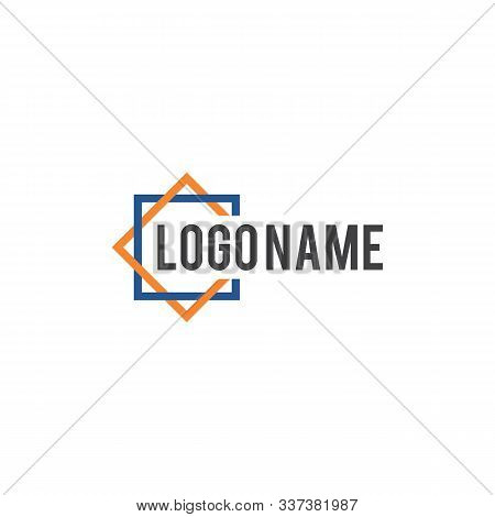 Square Abstract Circle Logo Design. Square Logo Design. Business Vector Abstract Community Logo Desi