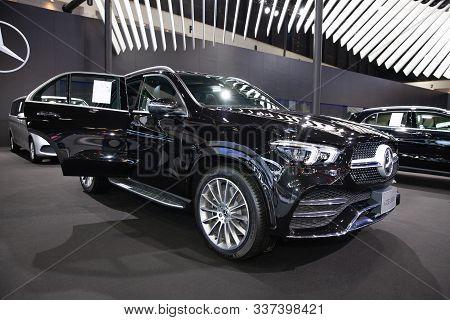Bangkok - November 28: Mercedes-benz Gle 300 D Car On Display At Thailand International Motor Expo 2