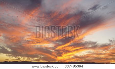 Red Purple Orange Blue Pink Sunset Sky Cloud Red Purple Cloudscape Time Lapse Background Dark Red Pu