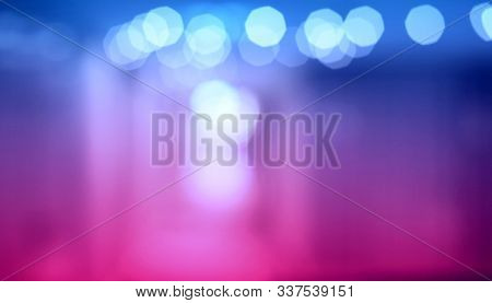 Abstract De focus soft blinking violet background.
