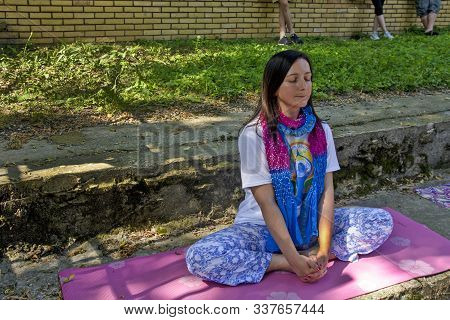 Woman Yoga Meditation