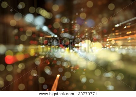 Digitally Generated Image of light on black background