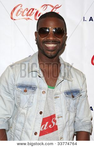 WOODLAND HILLS - JUN 2: Ray J at the Grand Opening Celebrity VIP Reception of the FIRST SIGNATURE LA FITNESS CLUB on June 2, 2012 in Woodland Hills, California