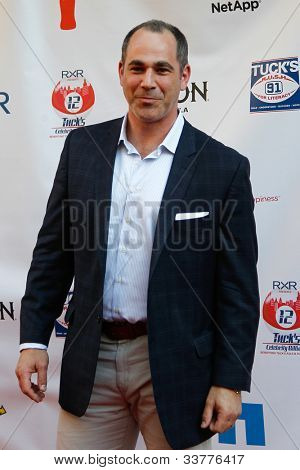 NEW YORK-MAY 31: NHL network analyst Bill Jaffe attends the 4th annual Tuck�s Celebrity Billiards Tournament at Slate on May 31, 2012 in New York City.
