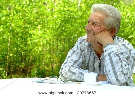 Beautiful Nice Senior Man