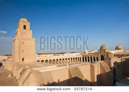 Great Mosque of Kairouan, Tunisia is the fourth most sacred place of islam