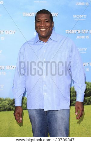 LOS  ANGELES- JUN 4: Curt Menefee at the premiere of Columbia Pictures' 'That's My Boy' at the Regency Village Theater on June 4, 2012 in Los Angeles, California