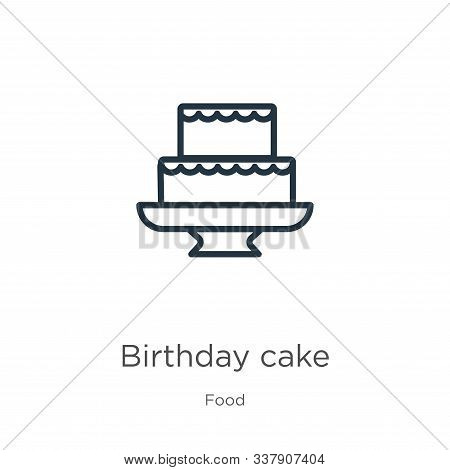 Excellent Birthday Cake Icon Vector Photo Free Trial Bigstock Funny Birthday Cards Online Kookostrdamsfinfo