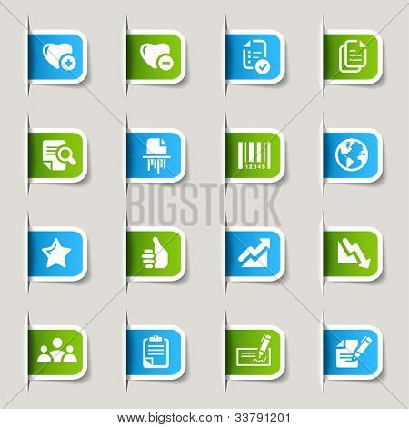 Labels - Office and Business icons