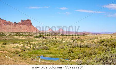 Canyonlands National Park Scenic Landscape, Utah, Usa.
