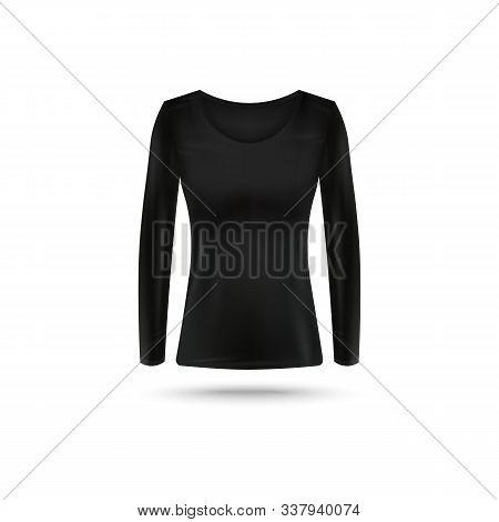Black Long Sleeve Vector Photo Free Trial Bigstock
