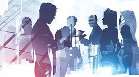 International Business Team In Modern City