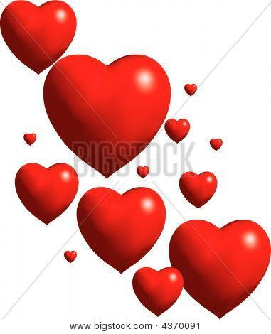 Heart Collage Vector