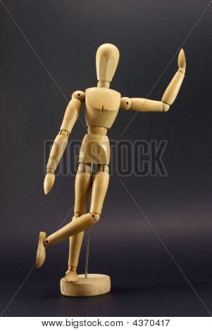 Articulated Wooden Pose