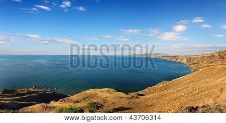 Summer Coastline In Crimea Ukraine