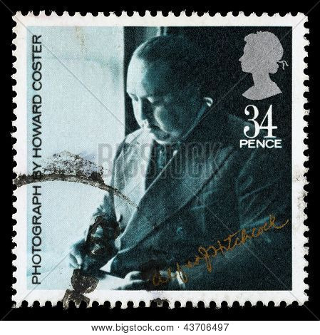 Britain Alfred Hitchcock Postage Stamp
