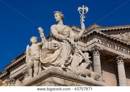 Sculpture In Versailles, Yvelines, Ile De France, France