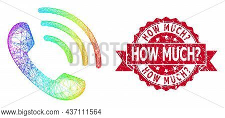 Rainbow Vibrant Wire Frame Phone Call, And How Much Ask Dirty Ribbon Seal Print. Red Stamp Contains