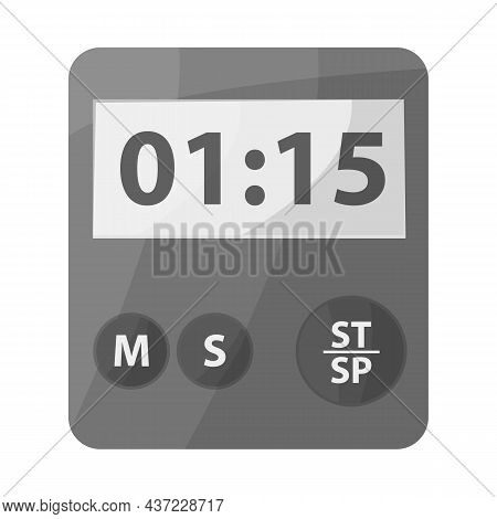 Vector Design Of Stopwatch And Clock Icon. Graphic Of Stopwatch And Timer Stock Vector Illustration.