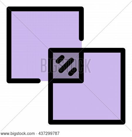 Ceramic Tiler Icon. Outline Ceramic Tiler Vector Icon Color Flat Isolated