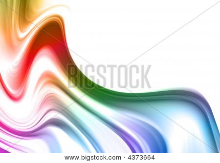 poster of creative abstract background for design. Art illustration.