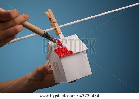 Home Renovation - real estate concept