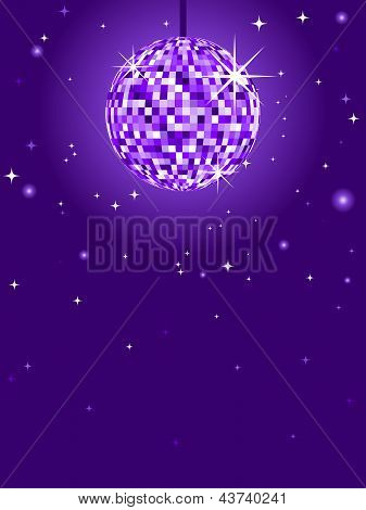 Purple Discoball