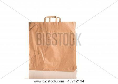 Bag On White