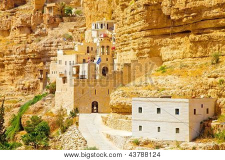 Ancient Greek Convent On The Rock