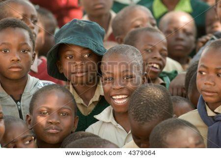 Schulkinder in Simbabwe